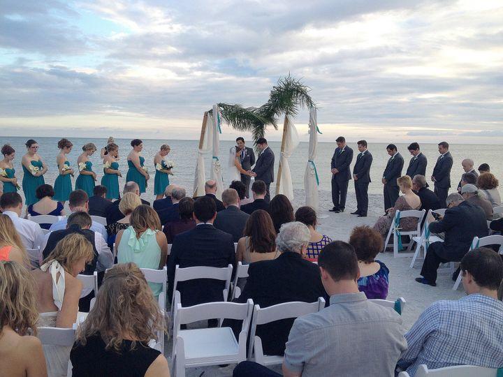 Tmx 1452720946533 Beach Ceremony 001 Fort Myers, FL wedding dj