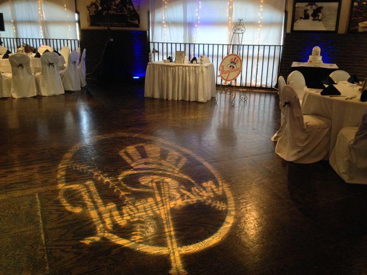 Tmx 1452727921199 Custom Gobo Monogram Projection 4 2 Fort Myers, FL wedding dj