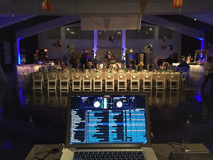 DJ Set up