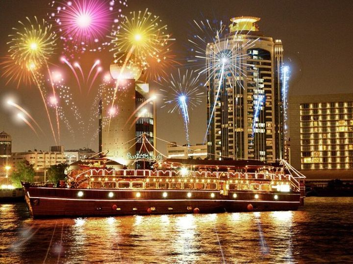 New year in Dubai Marina