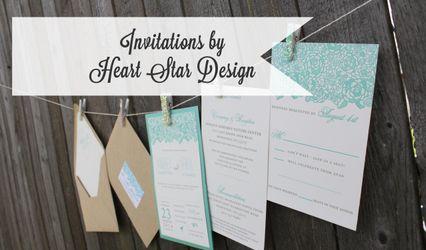 Heart Star Design 1