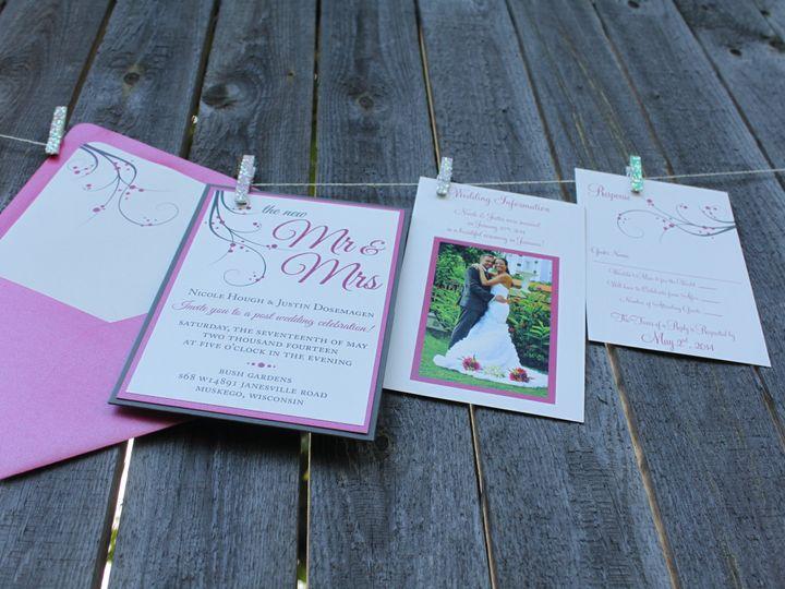 Tmx 1436983873091 Img2923 South Milwaukee wedding invitation