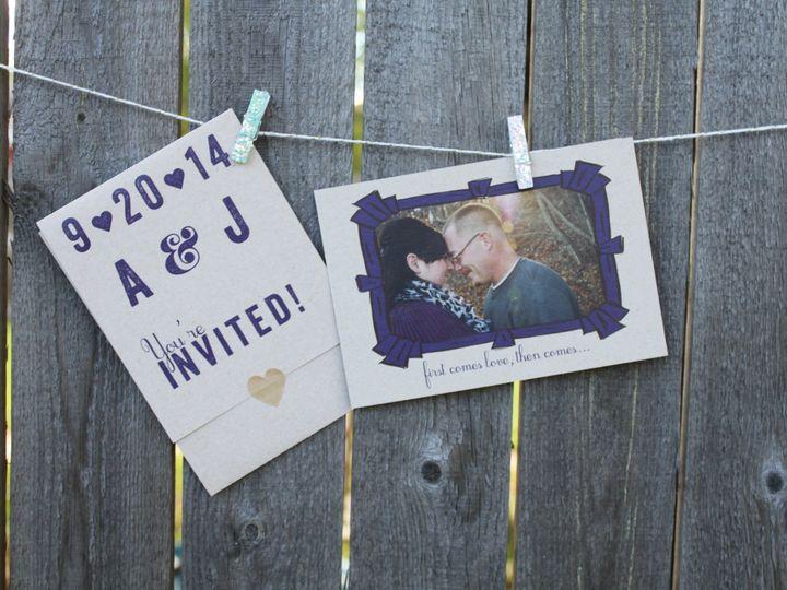 Tmx 1436983909748 Img2939 South Milwaukee wedding invitation