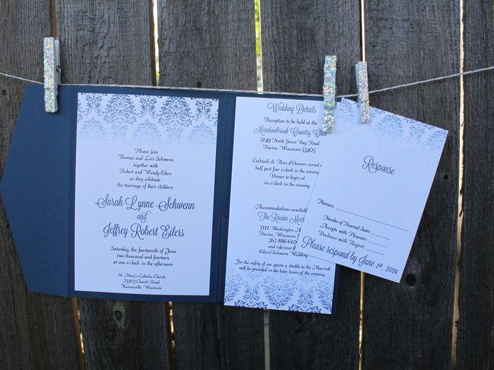 Tmx 1436984145773 Img3074 South Milwaukee wedding invitation