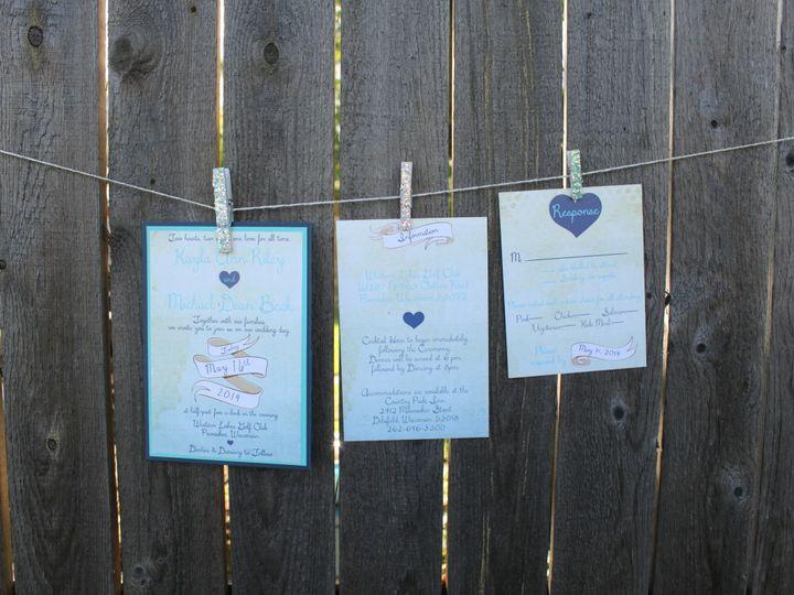 Tmx 1436984187100 Img3090 South Milwaukee wedding invitation