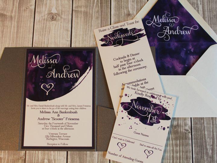 Tmx 1465335769643 Img5001 South Milwaukee wedding invitation