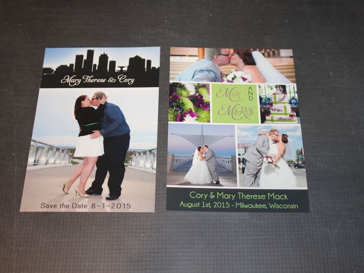 Tmx 1465336198558 Img5195 South Milwaukee wedding invitation