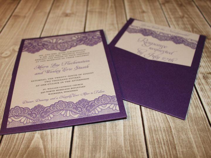 Tmx 1465336241255 Img5206 South Milwaukee wedding invitation