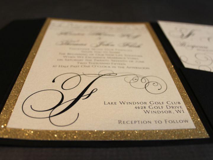 Tmx 1465336364706 Img5287 South Milwaukee wedding invitation