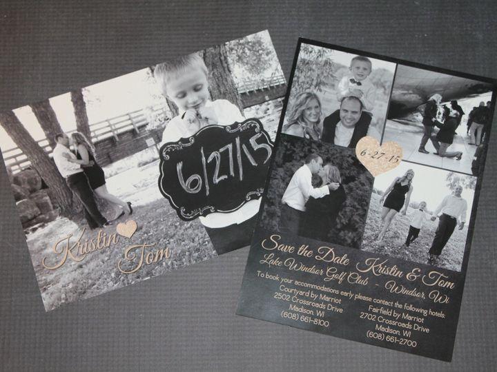 Tmx 1465336408707 Img5305 South Milwaukee wedding invitation