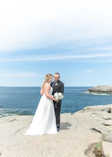 York, Maine wedding