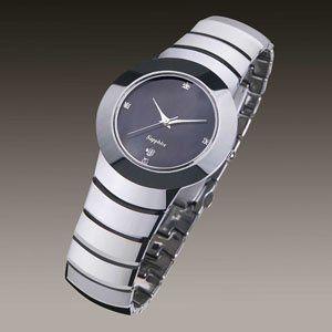 , Blade Runner Tungsten Carbide Wedding Watch http://www.tungstenjewelryrings.com Band:Tungsten...
