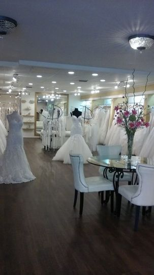 White themed boutique