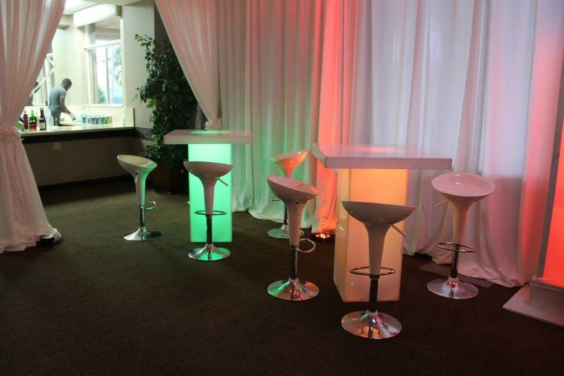 Furniture Rental with lights
