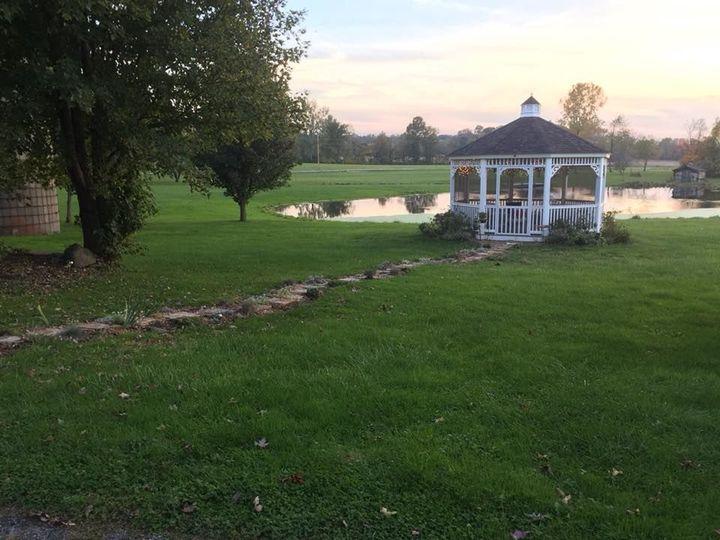 The Gazebo and pond