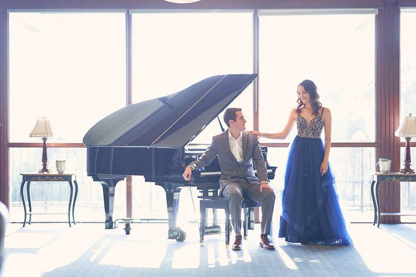 The couple | SJCC Engagement Photo