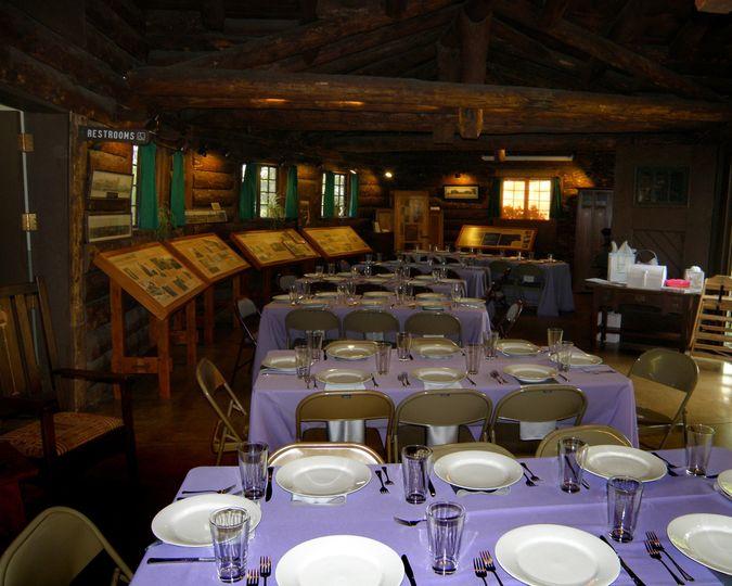 visitor center dinner