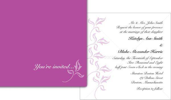 Tmx 1294938466085 WeddingInvite Norwood wedding invitation