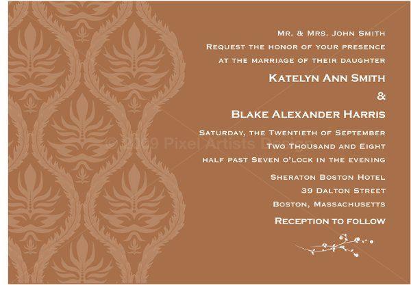 Tmx 1294938469163 PAWeddingInvite2 Norwood wedding invitation