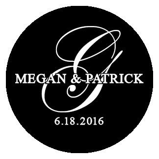 Tmx 1469827501865 Megan  Patrick Monogram Norwood wedding invitation