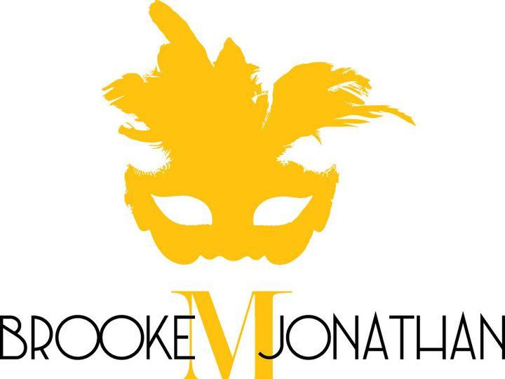 Tmx 1469828038613 Brooke  Jonathan Monogram Vs3 Norwood wedding invitation