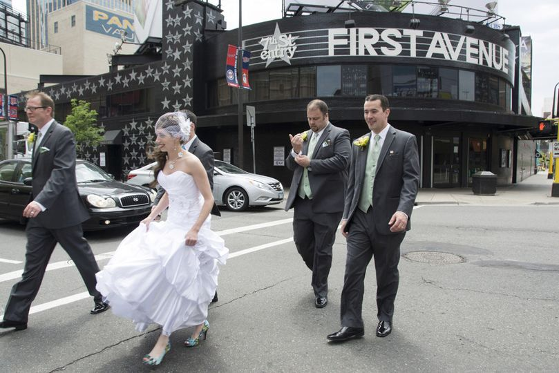 Bride at First Ave