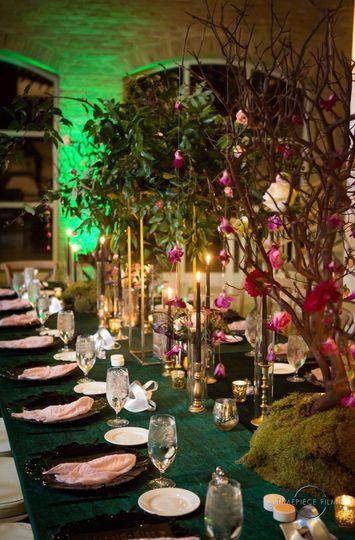 Enchanted themed weddings