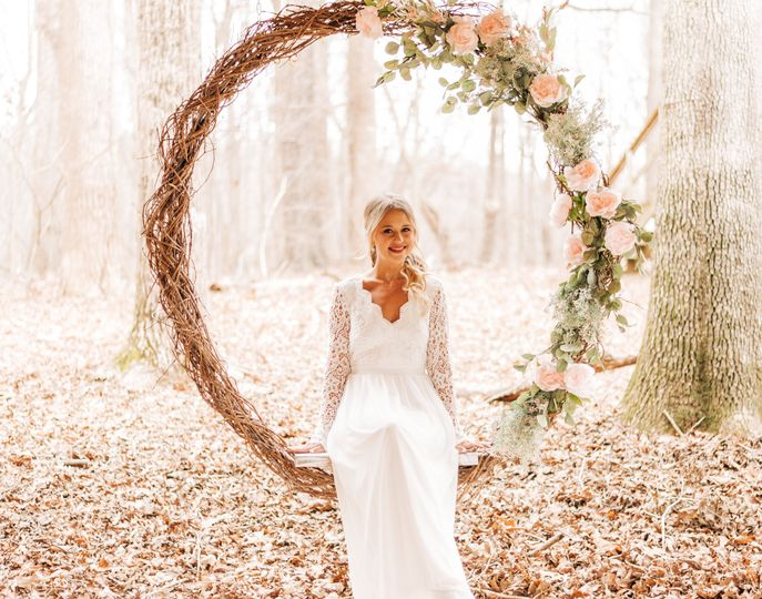 Perfect for bridal portraits