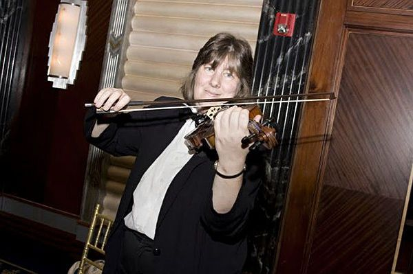 Marie stack on violin
