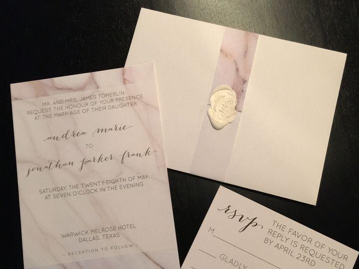 Tmx 1452789600440 Img0301 Dallas wedding invitation