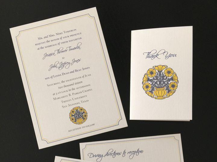 Tmx 1452789666150 Img0290 Dallas wedding invitation