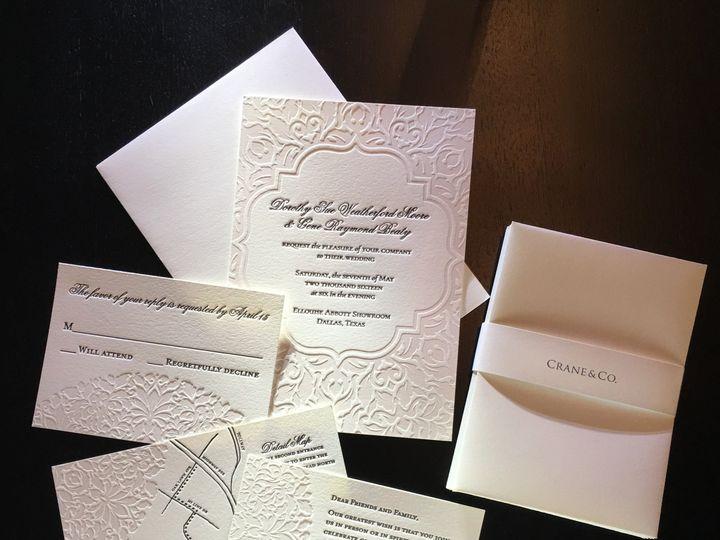 Tmx 1457303310027 Susielp Dallas wedding invitation