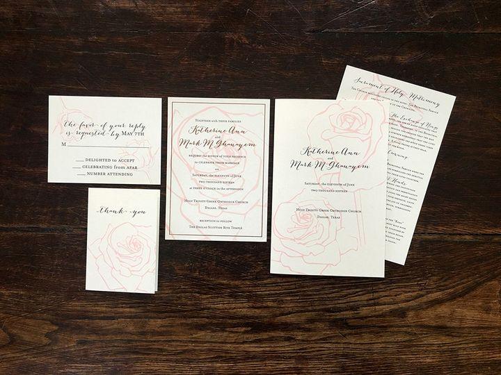 Tmx 1482098634211 Img2229 Dallas wedding invitation