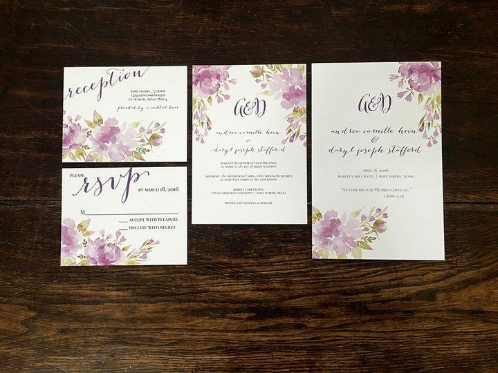 Tmx 1482098673918 Img2238 Dallas wedding invitation