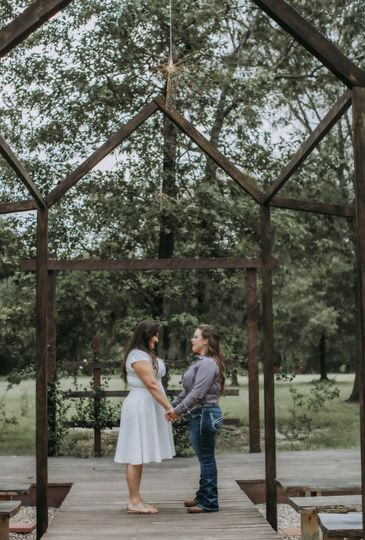 Choice of 2 outdoor Ceremony.