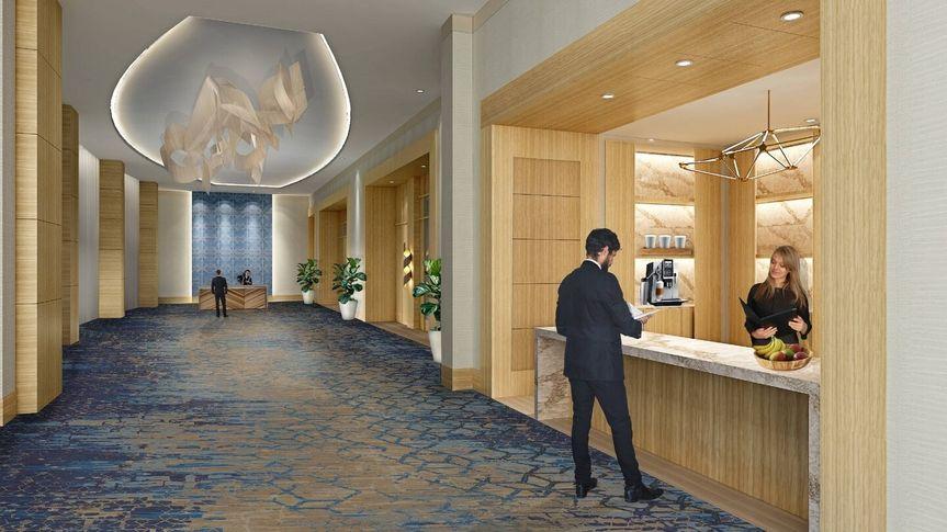 The Grand Ballroom entrance hall
