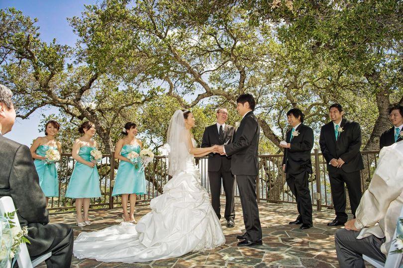Vista Deck ceremony