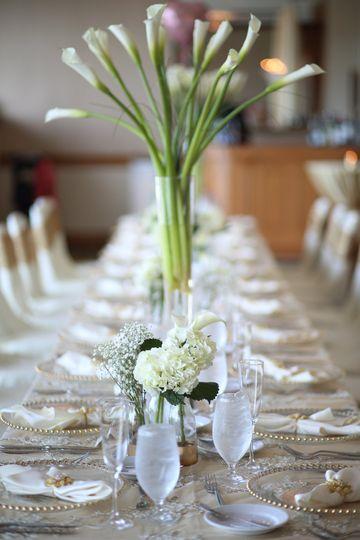 Flowers by beach side weddings