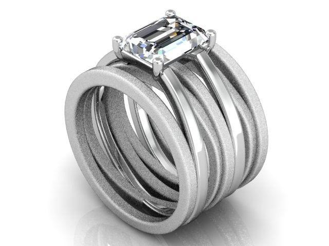 Telayne Designs Custom Jewelry engagement ring