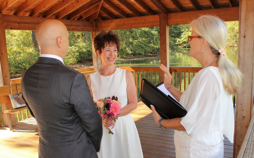 Spring Wedding at the Park