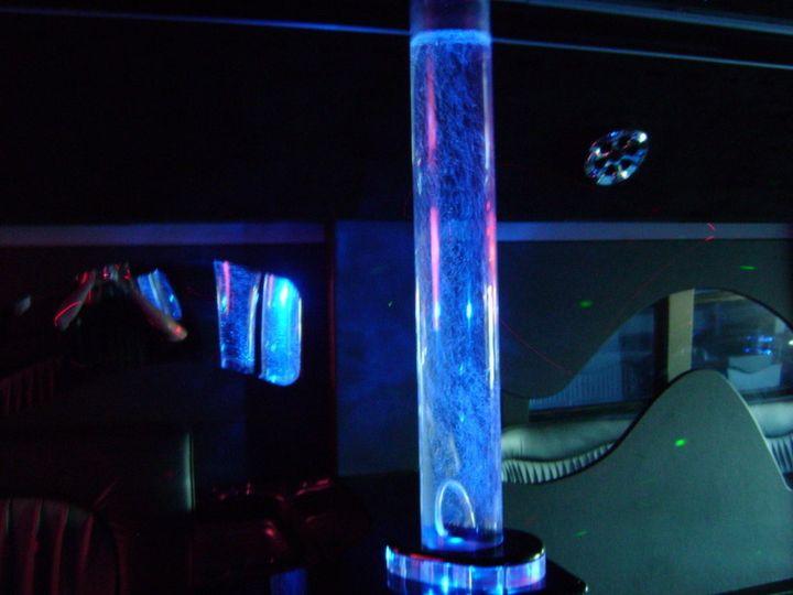party bus interior bubble lamp