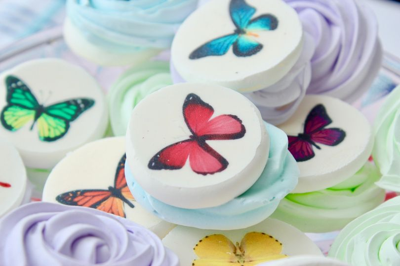Butterfly Rosettes