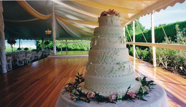 Tmx 1284230723200 WeddingCake01 Madison, CT wedding catering