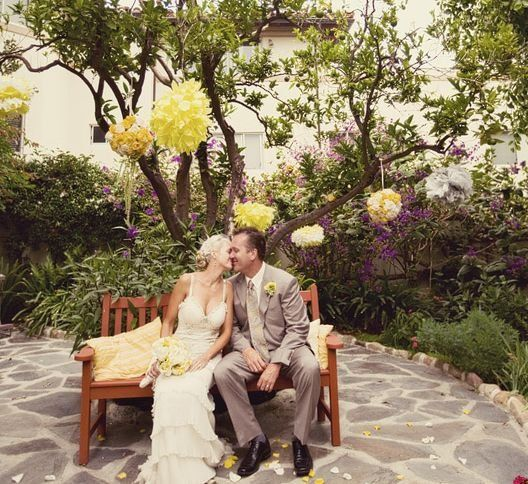 Serra Retreat in Malibu, CA Wedding photo