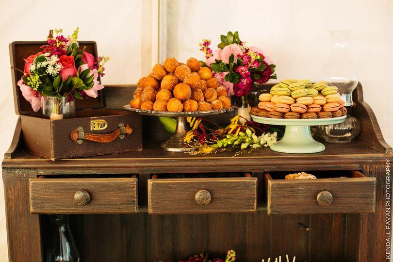 Sweet Rhi dessert display