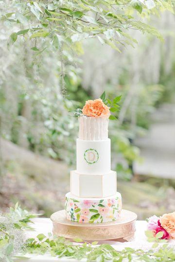 Magnolia Plantation cake