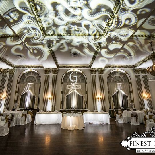 George Washington Hotel Lighting by Finest Events