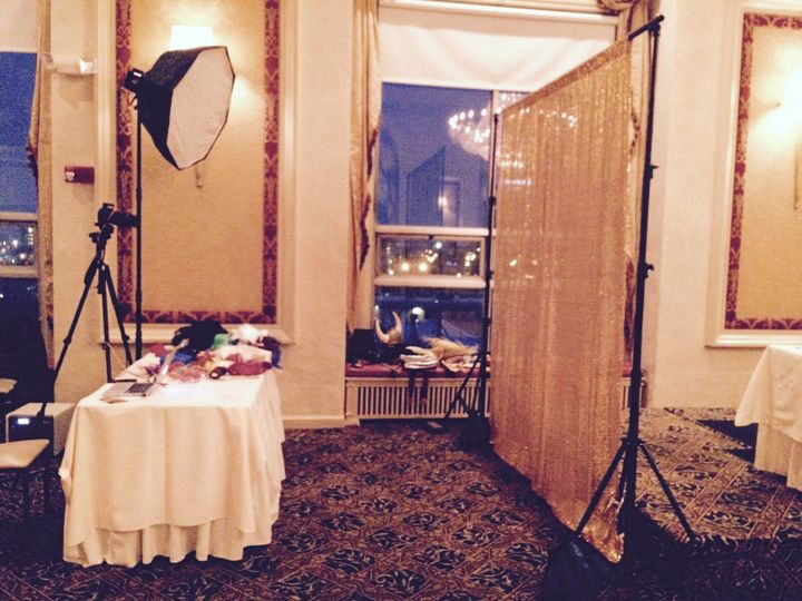 Booth setup