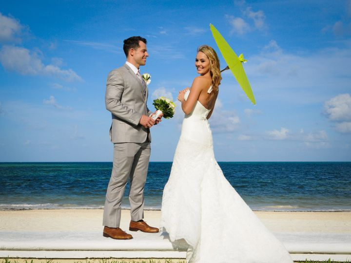Tmx 1393645298614 Maritzayalfred 24 Couple Beach Umbrell New York, New York wedding travel