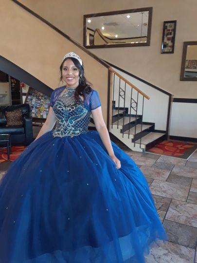 Onsite bridal photography